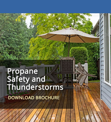 Propane Safety Thunderstorms