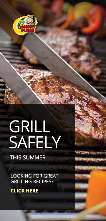 Propane safe grilling tips