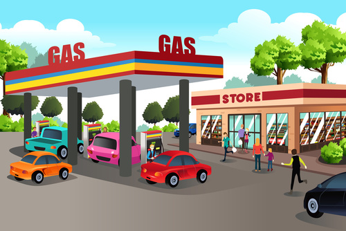 convenience store propane exchange