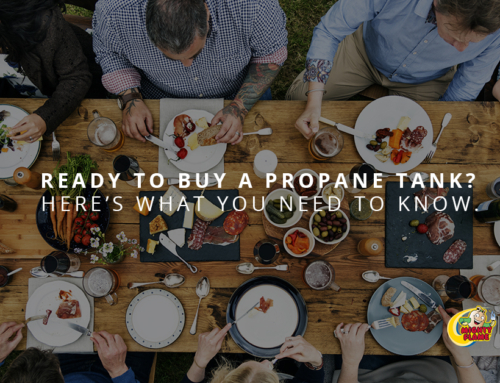 how to buy a propane tank